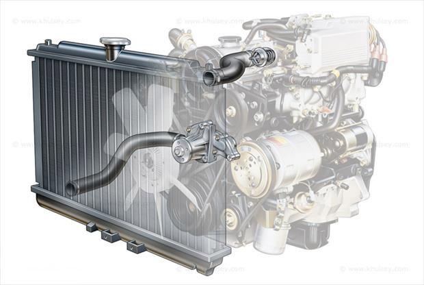 سیستم خنک کننده خودرو